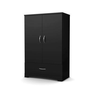 Step One Armoire Pure Black - 3107037