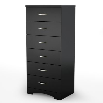 Step One 6-Drawer Chest Pure Black - 3107066