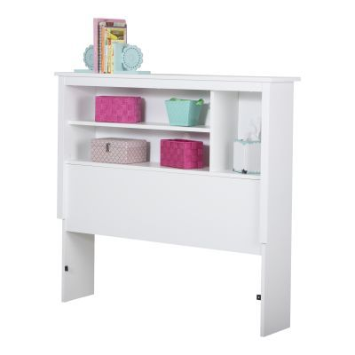 Vito Twin Bookcase Headboard (39'') Pure White - 3150098