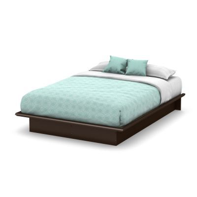 Step One Queen Platform Bed (60'') Chocolate - 3159233