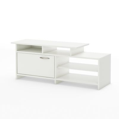 Step One TV Stand   Pure White - 3160661