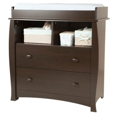 Beehive Changing Table with Removable Station in Espresso - 3619330