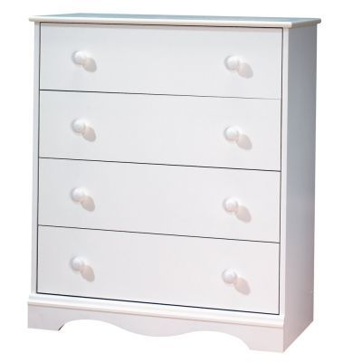 Angel 4-Drawer Ginny's Chest Pure White - 3680034