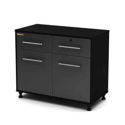 Karbon Base Cabinet Pure Black and Charcoal - 5227722