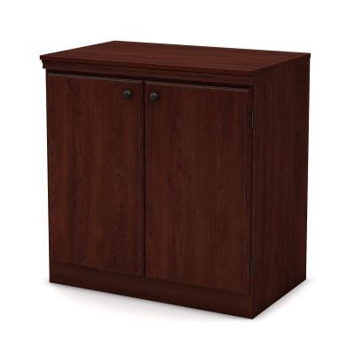 Morgan Small 2-Door Storage Cabinet Royal Cherry - 7246722