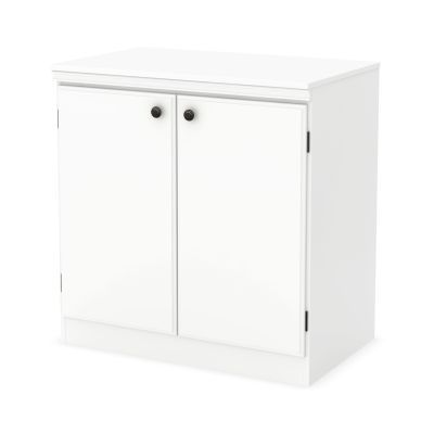 Morgan 2-Door Storage Cabinet Pure White - 7260722