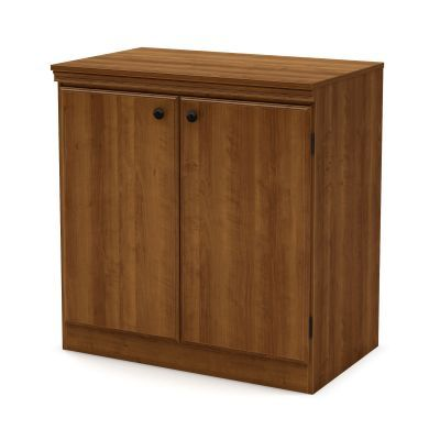 Morgan Small 2-Door Storage Cabinet Morgan Cherry - 7276722