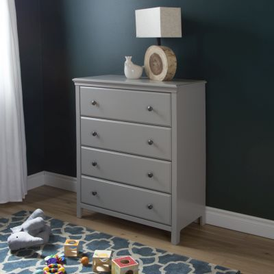 Cotton Candy 4-Drawer Chest Soft Gray - 9020034