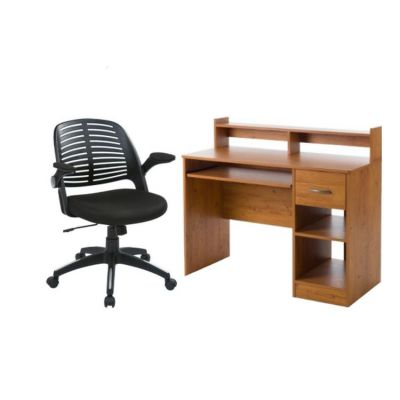2 Piece Home Office set in Country Pine