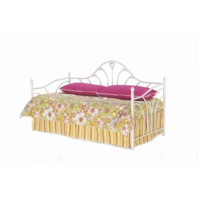 Emma Metal Daybed with Curved Spindles and Link Spring Twin - B61054
