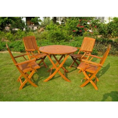 Royal Tahiti Five Piece Vigo Group Set in Stain - RT-029-FA-040-4CH