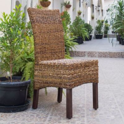 Arizona Abaca Dining Chair in Salak Brown - SG-3300-1CH