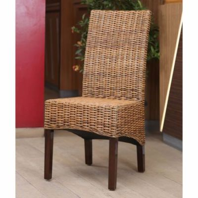 Java Rattan Dining Chair (Set of 2) in Salak Brown - SG-3312-2CH