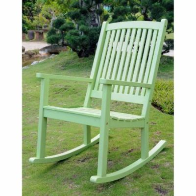 Acacia Large Rocking Chair in Mint Green - TT-RO-03-MGN