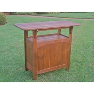 Wood Bar Table in Brown - VF-4107