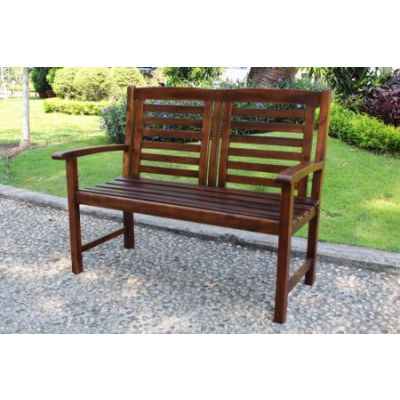 Acacia Trinidad Bench in Brown - VF-4306