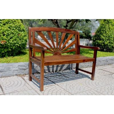 Acacia Sapporo Bench in Brown - VF-4307