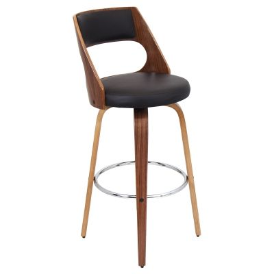 Cecina Barstool in Walnut Brown - BS-JY-CCN-WL-BN