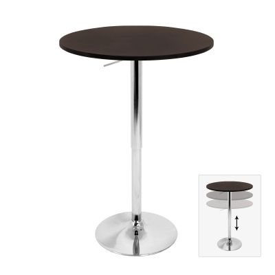 Elia Bar Table in Brown - BT-TLELIA27-BN