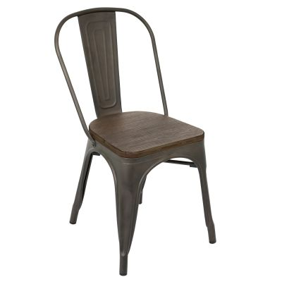 Oregon Dining Chair in Antique - DC-TW-OR-DKESP2