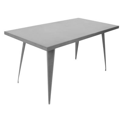 Austin 60x32' Dining Table in Matte Grey - DT-TW-AU6032-GY