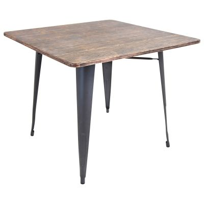 Oregon Stoneberry Dining Table in Grey - DT-TW-ORTB-SQ