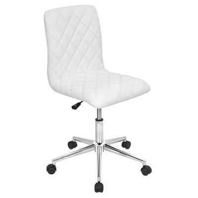 Caviar Office Chair in White - OC-TW-CAV-W