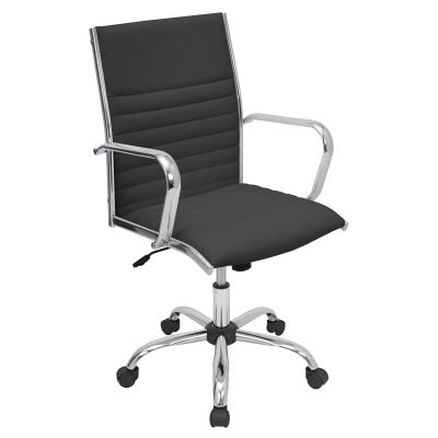 Master Office Chair in Black - OFC-AC-MSTR-BK