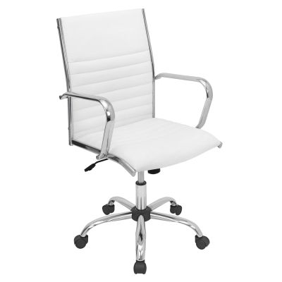 Master Office Chair in White - OFC-AC-MSTR-W