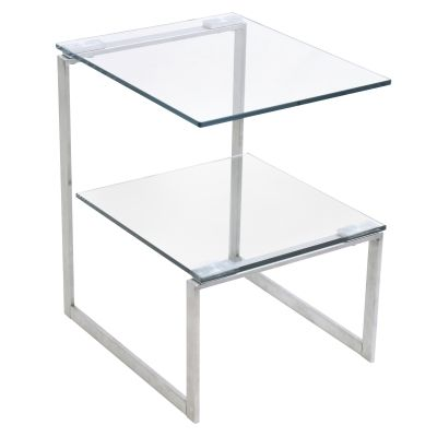6G End Table in Clear - TB-6G-SS