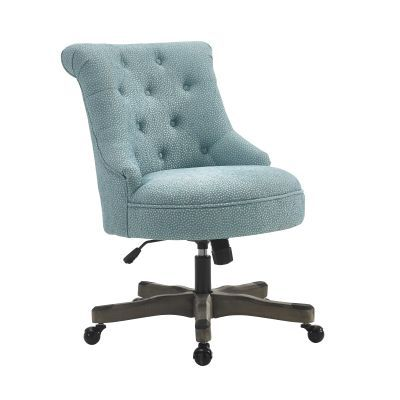 Sinclair Armless Office Chair in Light Blue - 178403LTBLU01U