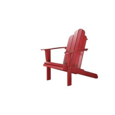 Adirondack Chair in Red - 21150RED-01-KD-U