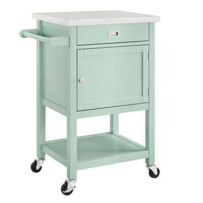 Sydney Green Apartment Kitchen Cart - 464918GRN01U