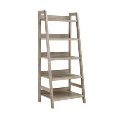 Tracey Ladder Bookcase in Grey - 69336GRY01U