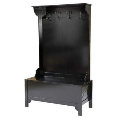Anna Hall Tree-Wide in Distressed Antique Black - 84020BLK-01-KD-U