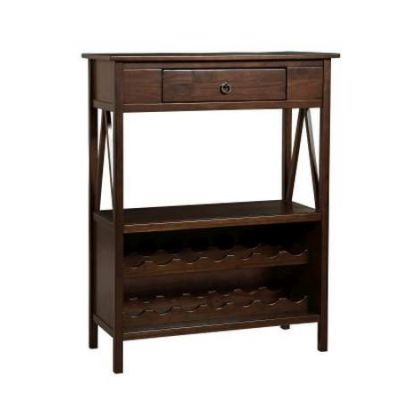 Titian Wine Cabinet in Antique Tobacco - 86161ATOB-01-KD-U