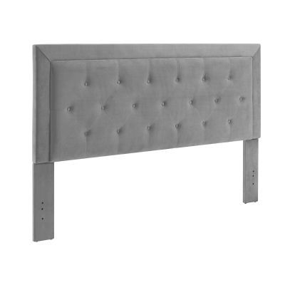 Clayton Dove King Headboard