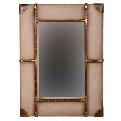 Vintage Framed Wall Mirror - Large - AMMMIR132X481