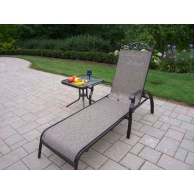 Cascade 2 Piece Chaise Lounge Set - 10605-L1ET1-2-CF