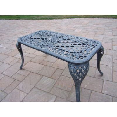 Mississippi Cast Aluminum Coffee Cocktail Table - 2007-VGY