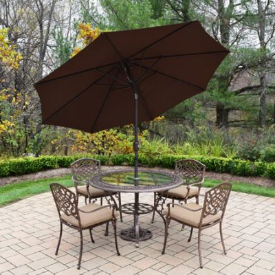 Mississippi 7 Piece Dining Set with Cushions - 2016T-2120C4-D56-4005BNBN-4101-11-AB