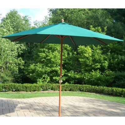 9 Ft Umbrella and Stand - 4001-GN-4101-2-AB