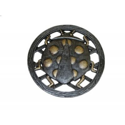 Cast Aluminum Stepping Stone Lady Bug - Set of 6 - 5094-6-AP