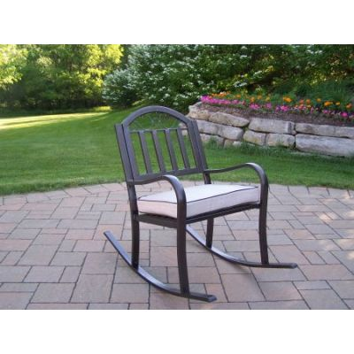 Rochester Rocking Chair with Cushion - 6124-2-HB