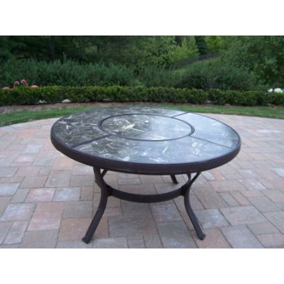 Stone Art 44-inch Chat Table - 70005-CF