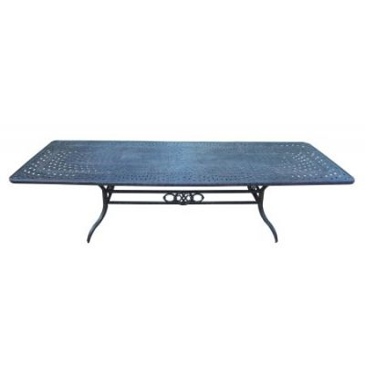 Belmont Aluminum Extendable Dining Table - 7809-T12646-MC