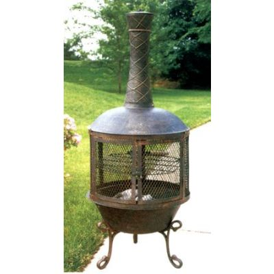 Heavy Duty Tower Feast Chimenea - 8019-AB