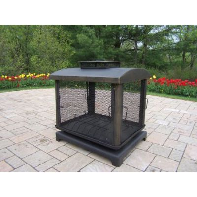 Outdoor Fire Place Pit - 8118-BK