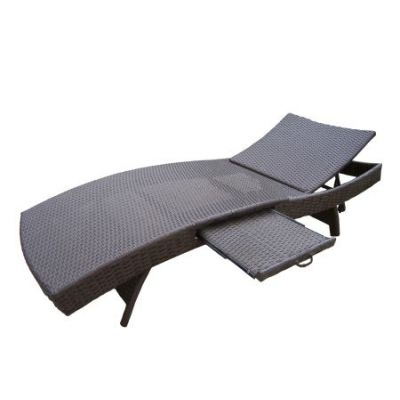 Elite Resin Wicker foldable Chaise Lounge - 90098-CL-CF