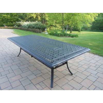 Hampton Aluminum Rectangular Dining Table - Part-7208-T10246-AB